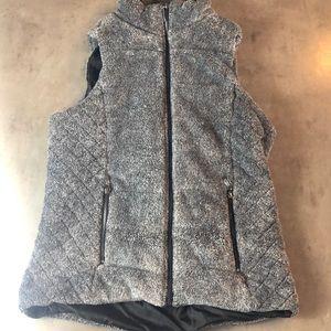 Lemon Tart Furry Vest